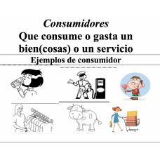 Producers and Consumers Productores y Consumidores