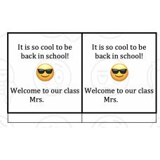 Meet the teacher Message Conoce a la maestra mensaje