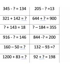 2.4D Generate and solve word problems. Generar y resolver problemas de Palabras