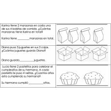 Multiplication Multiplicacion 2.6A
