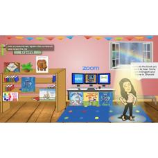 Editable Reading Response Bitmoji Virtual Classroom with Links to FREE Reading websites
